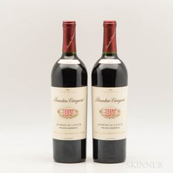 Beaulieu Vineyard Cabernet Sauvignon Georges de Latour Private Reserve 1989, 2 bottles