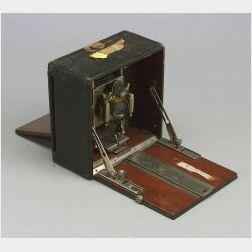 Three Folding Plate Cameras