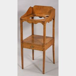 Federal Tiger Maple Chamberstand