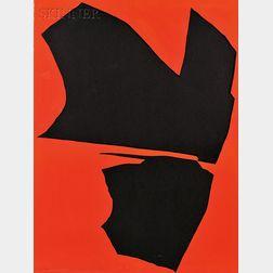 Jack Youngerman (American, b. 1926)      Rouge et Noir