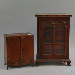Two Miniature Cabinets