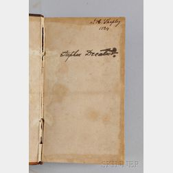 Two Books Owned by Commodore Stephen Decatur's Wife and Son