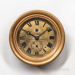 E. Howard & Co. U.S. Navy Deck Clock