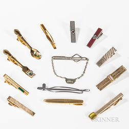 Collection of Tie Bars