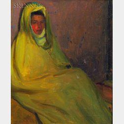 Robert Henry Logan (American, 1874-1942)    Seated Woman