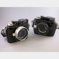 Two Nikonos Underwater Cameras