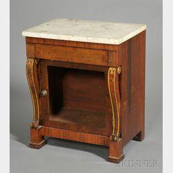 Classical Rosewood Veneer Music Cabinet