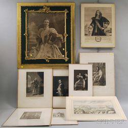 Nine Prints and Photographs