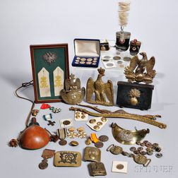 Group of Napoleonic Items