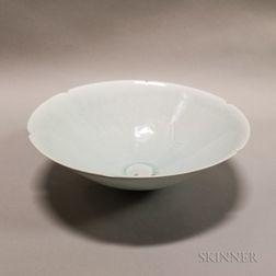 Qingbai-style White-glazed Ding Bowl