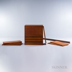 Danish Modern Wall Furniture System