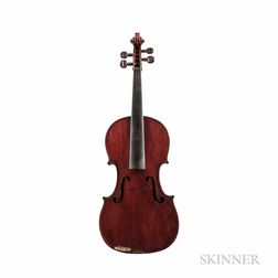 English Violin, James Packham, Croydon, 1885