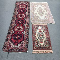 Sarouk Mat, Kerman Rug, and a Turkish Runner
