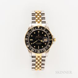 Rolex Two-tone GMT Master Reference 16753 Wristwatch