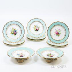 Eleven Pieces of Davenport Porcelain Tableware