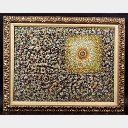 Richard Pousette-Dart (American, 1916-1992)    Eye of the Square