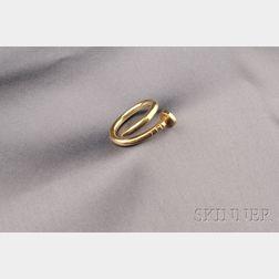 18kt Gold Nail Ring, Aldo Cipullo, Cartier