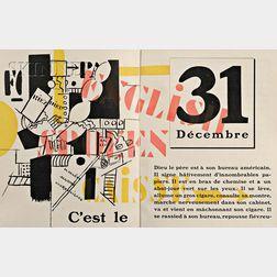 Fernand Léger, illustrator (French, 1881-1955)      La Fin du monde