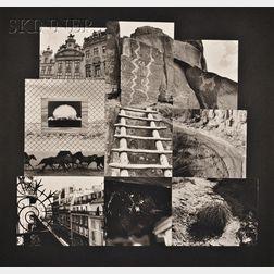 Meridel Rubenstein (American, b. 1948)      Lot of Two Images:  Edith's House