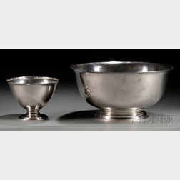 """Gorham """"Revere Reproduction"""" Sterling Silver Bowl"""