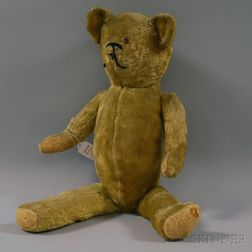 Articulated Champagne Mohair Teddy Bear