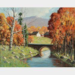 John F. Enser (American, 1898-1968)      The Lazy Brook