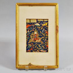 Print of a Persian Miniature