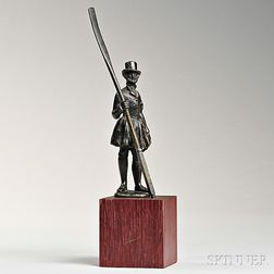 Bronze Waterman on Stand