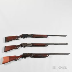 Three Semi-automatic 12-gauge Shotguns