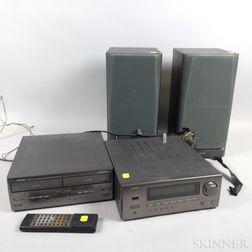 Denon Personal Component System Stereo.     Estimate $50-75