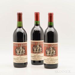 Heitz Cabernet Sauvignon Napa Valley, 3 bottles