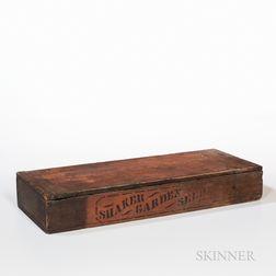 """""""Shaker Garden Seeds"""" Box"""