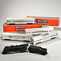 Lionel Train Super O Steam Passenger Set #2292WS and Four Additional Cars