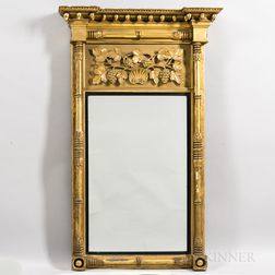 Large Gilt-gesso Mirror