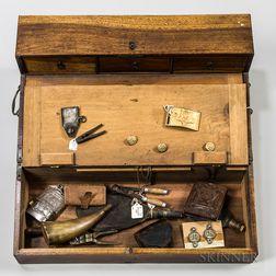 Civil War-era Field Desk and Contents