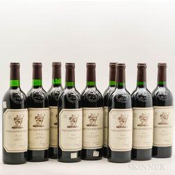 Stags Leap Fay Cabernet Sauvignon, 9 bottles