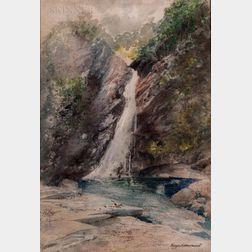 George F. Hammond (American, b. 1855)      Glen Ellis Falls, New Hampshire