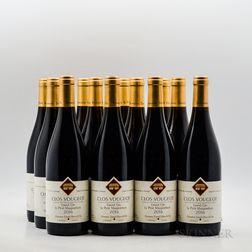 Daniel Rion Clos Vougeot 2016, 12 bottles (oc)