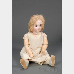 Large Kestner Bisque Child Doll