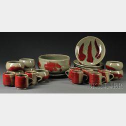 Otto Heino Porcelain Dinnerware Set