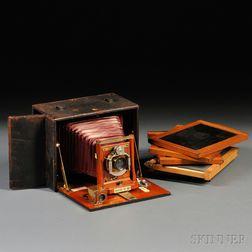 E. & H.T. Anthony Ascot No. 30 5x7 Plate Camera