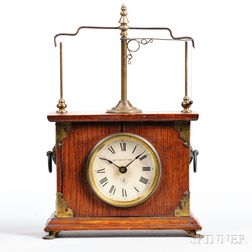 "Jerome & Co. ""Flying Pendulum No. 1"" Clock"