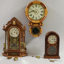 Three Connecticut Clocks
