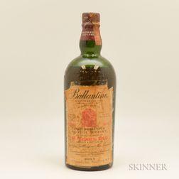 Ballantines 17 Years Old, 1 4/5 quart bottle