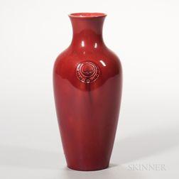 Moorcroft Pottery Flamminian Ware Vase