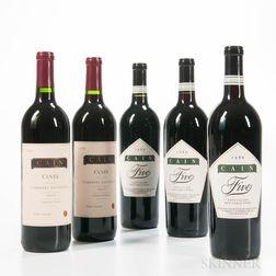 Cain Vineyard, 5 bottles