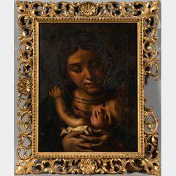 Italian School, 16th Century Style      Madonna and Child