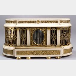 Louis XVI Musical Organ Clock Base
