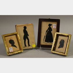Four Signed Silhouettes