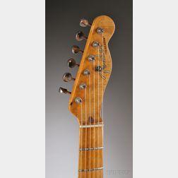 American Electric Guitar, Fender Musical Instruments, Fullerton, 1952, Model Telecaster